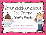Scrumdiddlyumptious Ice Cream Math Facts