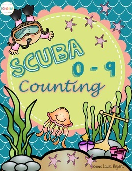 Scuba Counting 0 -9