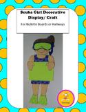 Scuba Craft -Decorative Display/Craft for Bulletin Boards and Hallways