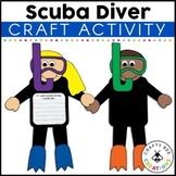 Scuba Diver Cut and Paste