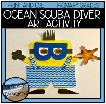 Ocean, Scuba Diver, Beach or Swimmer Art Project