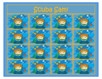 Scuba Sam!  A Pre-Primer and Primer Sight Word Game