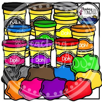 Play Dough Clipart