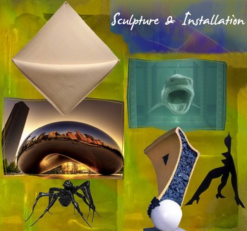 3 Dimensional Art - Sculpture Art - Installation Art - Modern Art - FREE POSTER