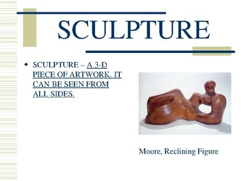 Sculpture Powerpoint