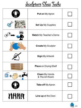 Sculpture Task Sheet