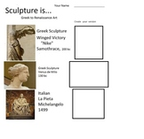 Sculpture (5 Open-Ended pages, includes Teachers Guide)