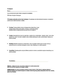 Sculpture worksheet and answer key-40 Questions-JH-HS-36 V