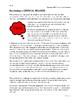Scythe (Neal Shusterman) Student Workbook for Guided Reading
