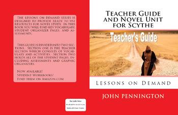 Scythe by Neal Shusterman Teacher's Guide and Novel Unit