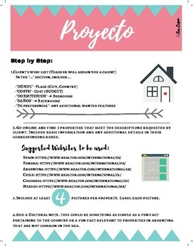 House Unit Project (Inspired by House Hunters International)