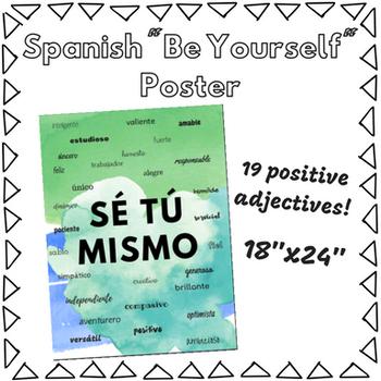 Sé Tú Mismo Poster