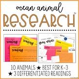 Ocean Animal Research