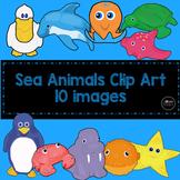 Sea Animal Clip Art Collection