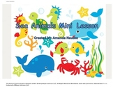 Sea Animal Mini Lesson