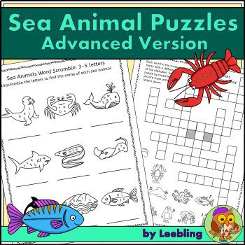 Sea Animals Letters Teaching Resources | Teachers Pay Teachers