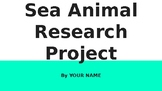 Sea Animal Research Project
