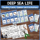 Sea Animal Trading Cards, Games, Activities and Projects