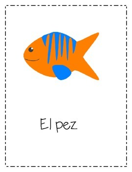 Sea Animals- Animales Marinos- Posters