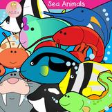 Sea Animals Clip Art Volume 2