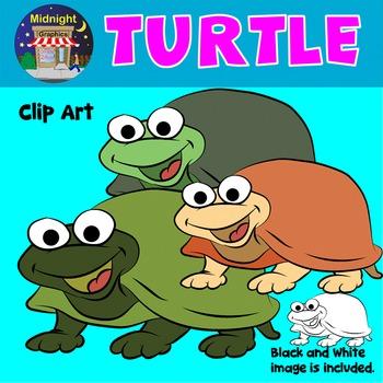 Sea Animals Clip Art - Turtle
