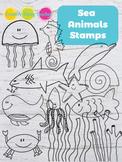 Sea Animals Doodles
