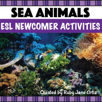 Sea Animals ESL Newcomer Activities