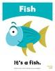 Sea Animals Flashcards / Set of 12 / Printable