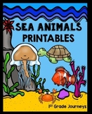 Sea Animals  Journeys First Grade