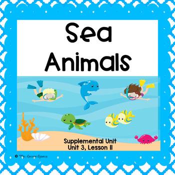 Sea Animals- First Grade Supplemental Unit
