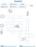 Sea Animals, Language, Math & Art