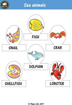 Sea Animals Puppets