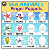 Sea Animals Puppets