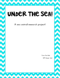Sea Animals Research Project