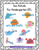 Sea Animals for English Language Learners