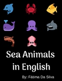 Sea Animals in English