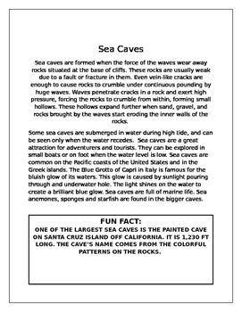 Sea Caves (Ocean, Sea)