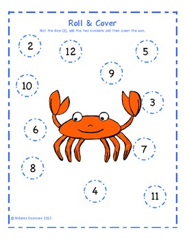 Sea Creature Addition Roll and Cover