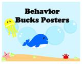 Sea Creature Behavior Bucks Posters