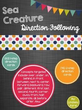 Sea Creature Direction Following