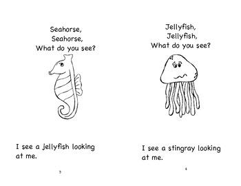 Sea Creature Guided Reading Book Set