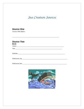 Sea Creature Mini Research Unit