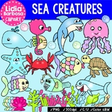 Sea Creatures {Clip Art for Teachers}