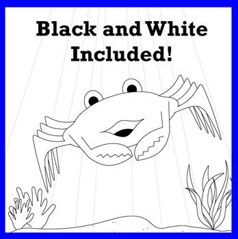 Sea Life and Creatures Clip Art