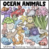 Sea Creatures Clip Art Double Set Bundle
