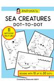 Sea Creatures dot-to-dot