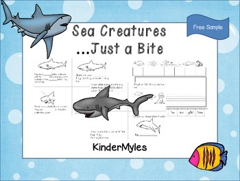 Sea Creatures...Just a Bite {Free Sampler}