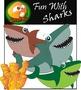 Sea Creatures_Fun with Sharks Clip Art