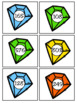 Sea Dog Sums & Differences: A File Folder Game for TEKS 2.4C