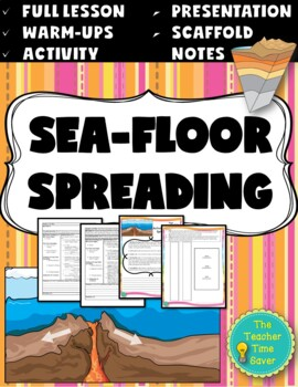 Sea-Floor Spreading Lesson (Presentation, notes, and activity)- Earth Science